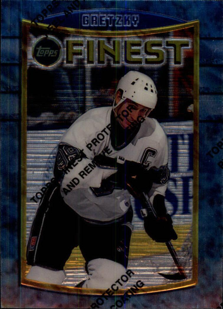 1994-95 Finest #41 Wayne Gretzky