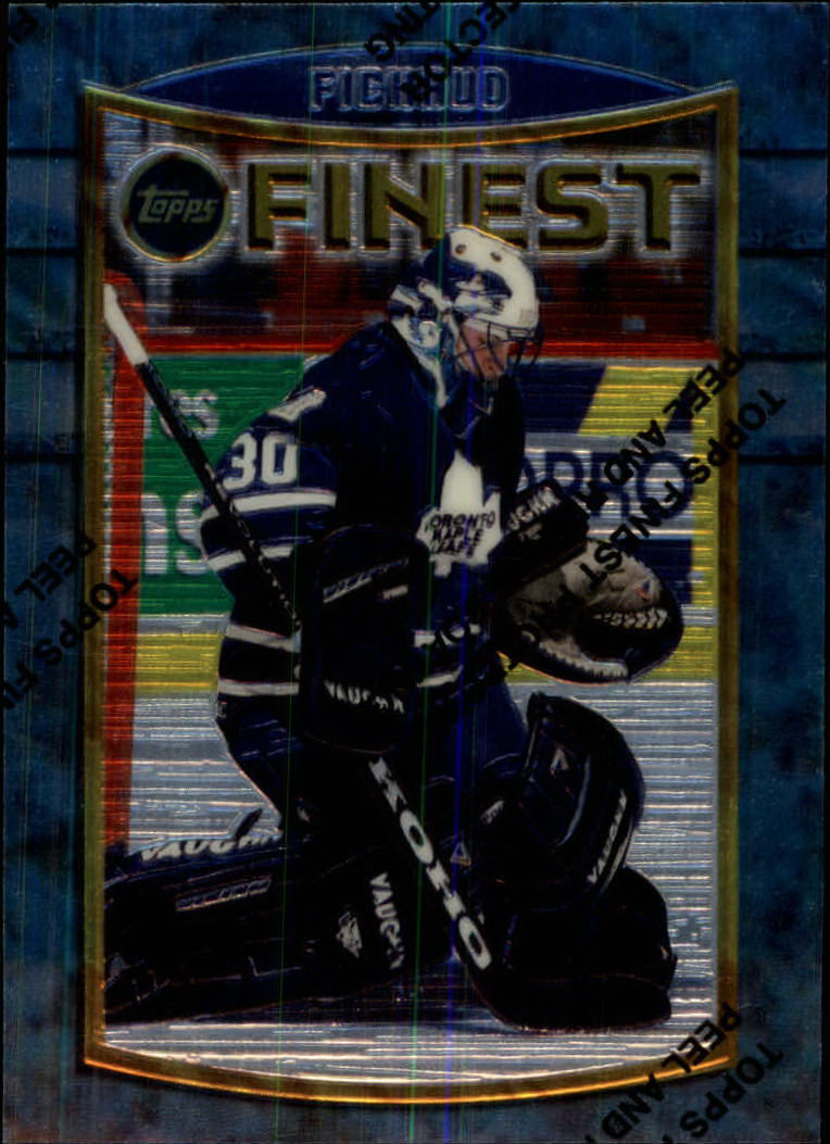 1994-95 Finest #77 Eric Fichaud RC