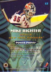 1994-95 Finest Bowman's Best #B13 Mike Richter back image