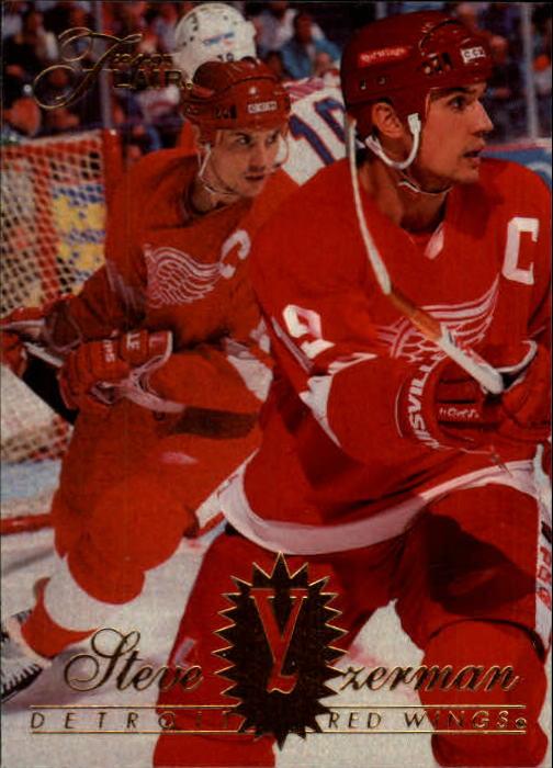 1994-95 Flair #55 Steve Yzerman