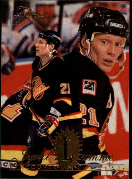 1994-95 Flair #192 Jyrki Lumme