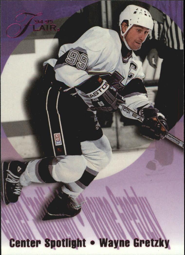 1994-95 Flair Center Spotlight #4 Wayne Gretzky