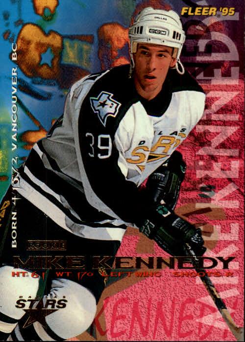 1994-95 Fleer #54 Mike Kennedy RC