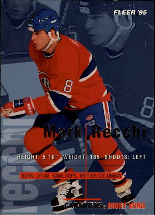 1994-95 Fleer #106 Mark Recchi
