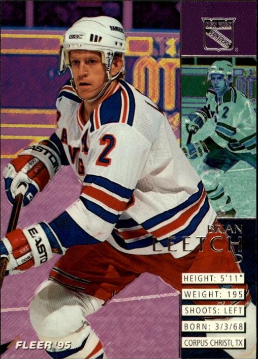 1994-95 Fleer #135 Brian Leetch