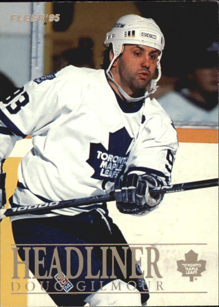 1994-95 Fleer Headliners #3 Doug Gilmour