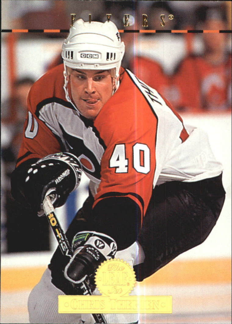 1994-95 Leaf #480 Chris Therien