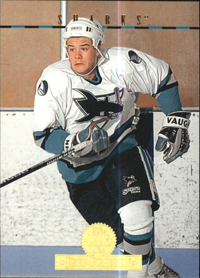 1994-95 Leaf #482 Jeff Friesen