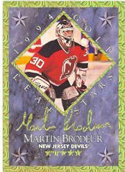 1994-95 Leaf Gold Stars #8 Martin Brodeur/Dominik Hasek