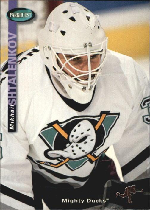 1994-95 Parkhurst #4 Mikhail Shtalenkov RC
