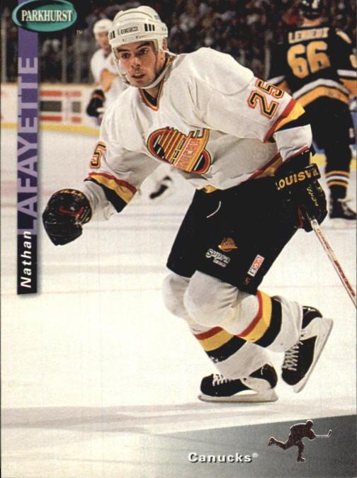 1994-95 Parkhurst #247 Nathan Lafayette