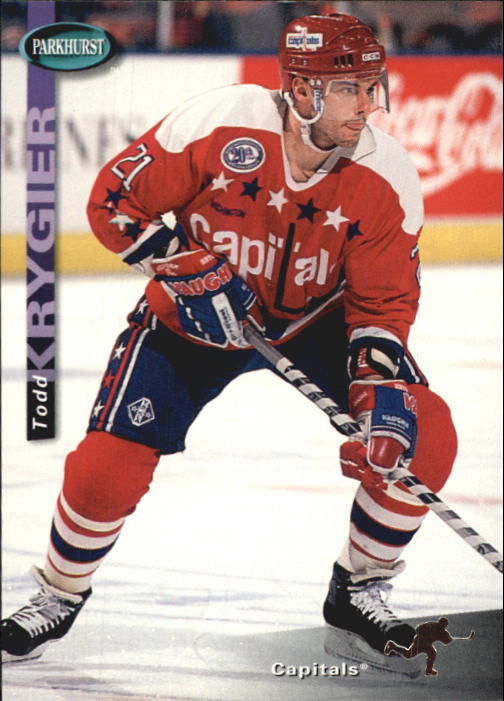 1994-95 Parkhurst #258 Todd Krygier