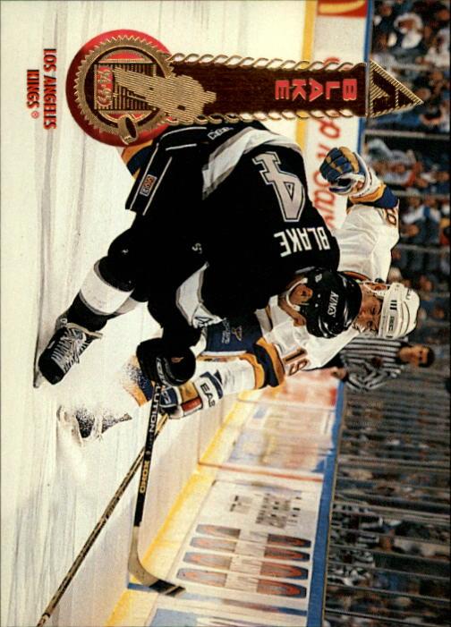 1994-95 Pinnacle #9 Rob Blake
