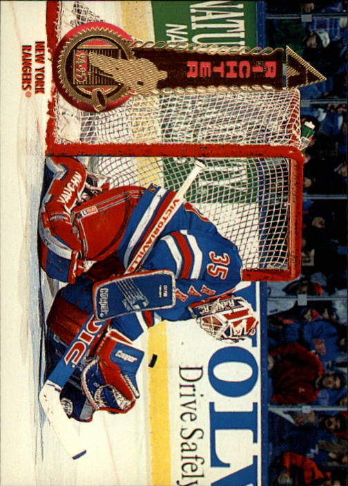 1994-95 Pinnacle #10 Mike Richter