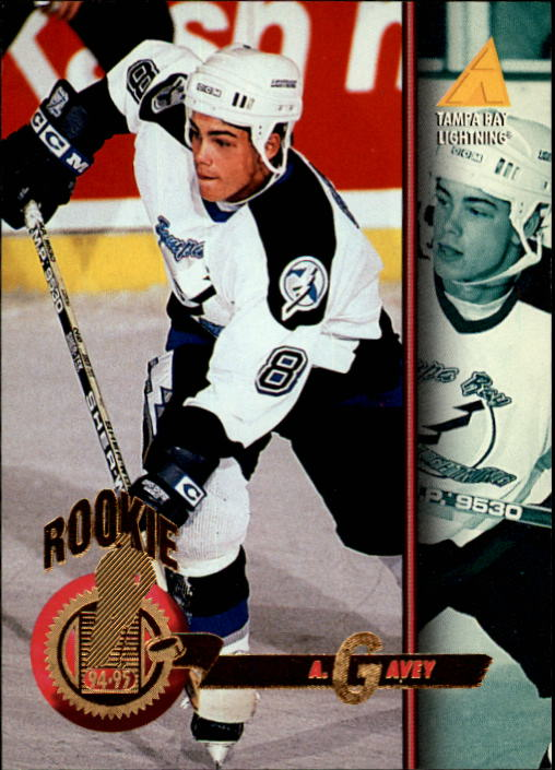 1994-95 Pinnacle #251 Aaron Gavey