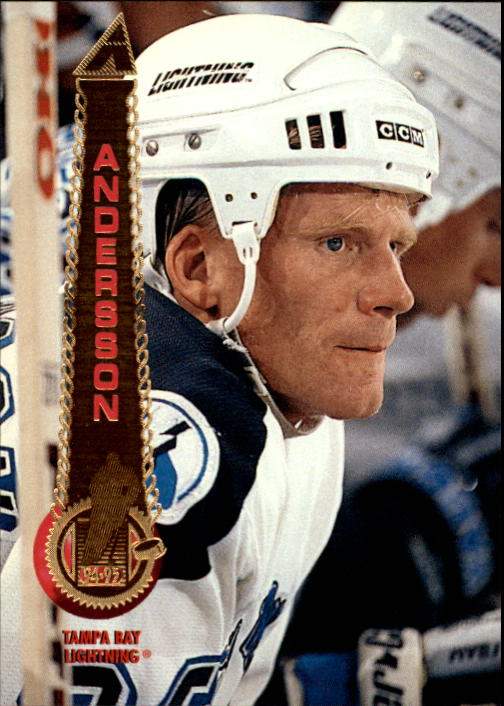 1994-95 Pinnacle #451 Mikael Andersson