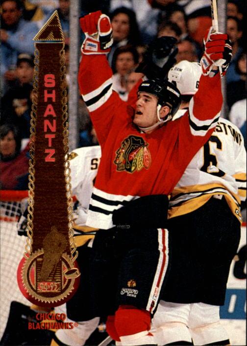 1994-95 Pinnacle #458 Jeff Shantz