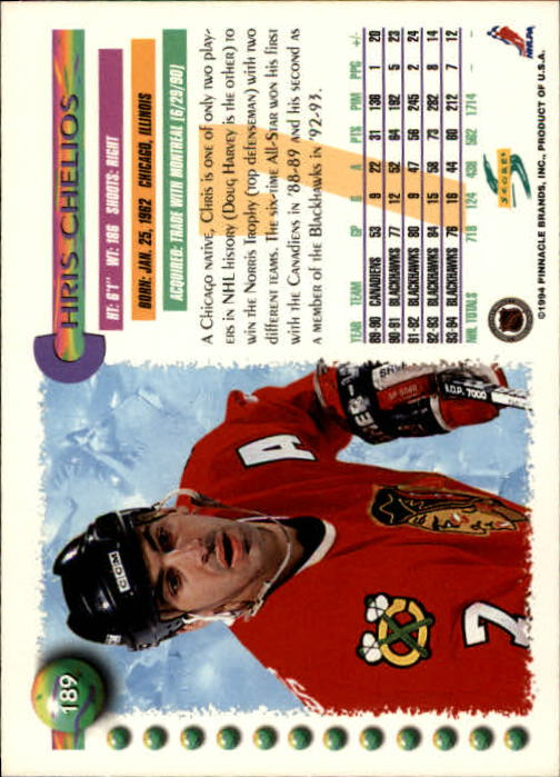 1994-95-Score-Hockey-Cards-1-250-Pick-From-List