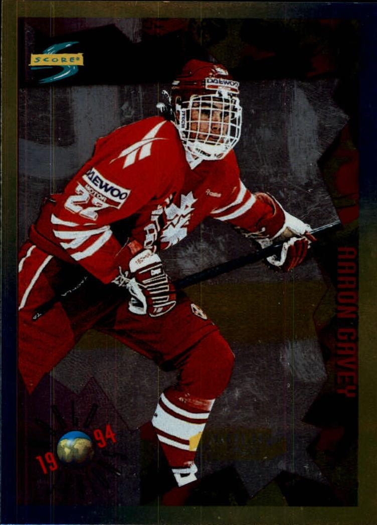 1994-95 Score Gold Line #207 Aaron Gavey