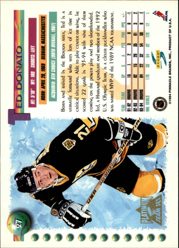 1994-95-Score-Platinum-Hockey-Card-Pick thumbnail 15