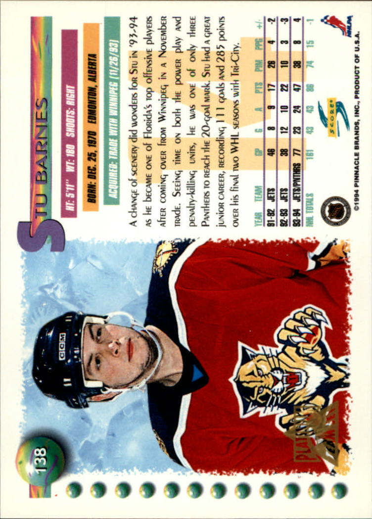 1994-95-Score-Platinum-Hockey-Card-Pick thumbnail 89