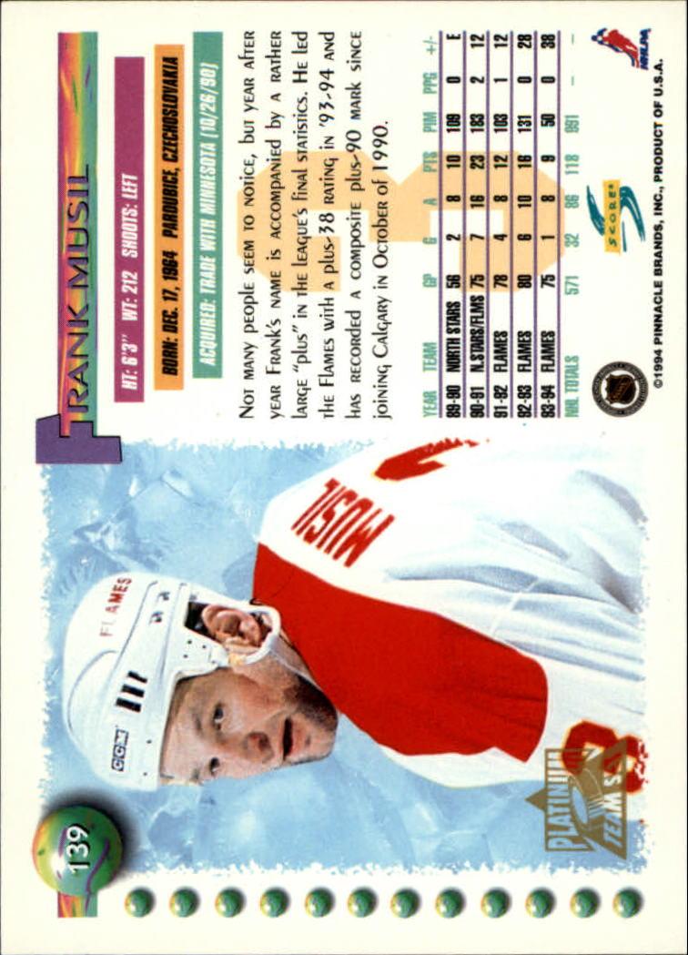 1994-95-Score-Platinum-Hockey-Card-Pick thumbnail 91