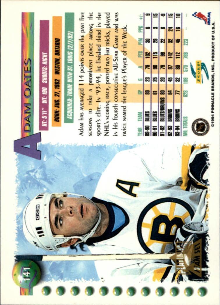 1994-95-Score-Platinum-Hockey-Card-Pick thumbnail 93