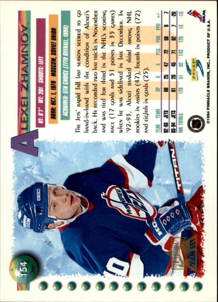 1994-95-Score-Platinum-Hockey-Card-Pick thumbnail 99