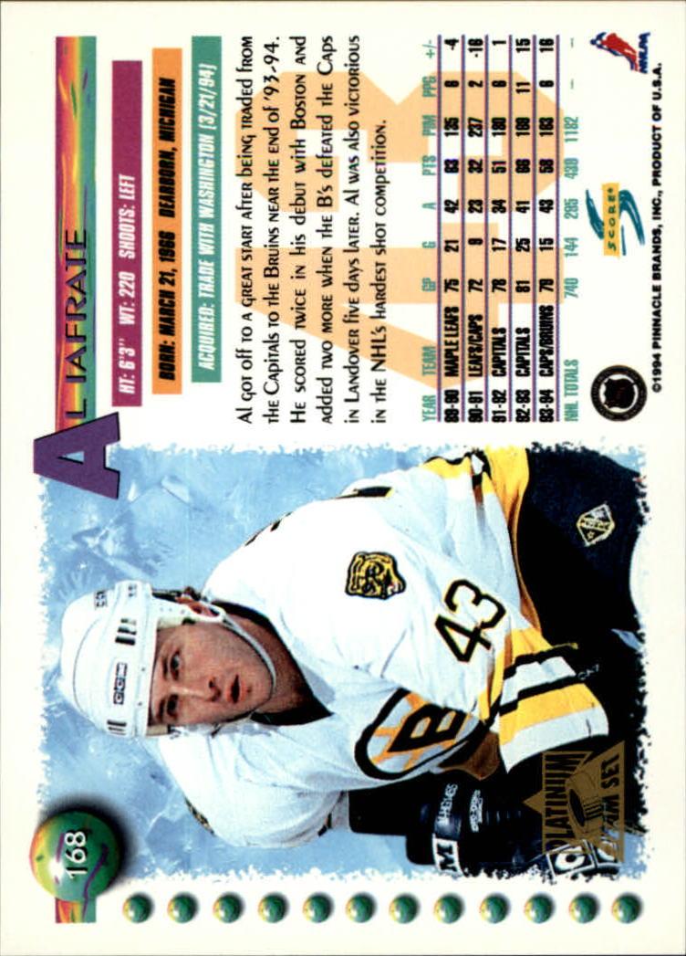 1994-95-Score-Platinum-Hockey-Card-Pick thumbnail 109