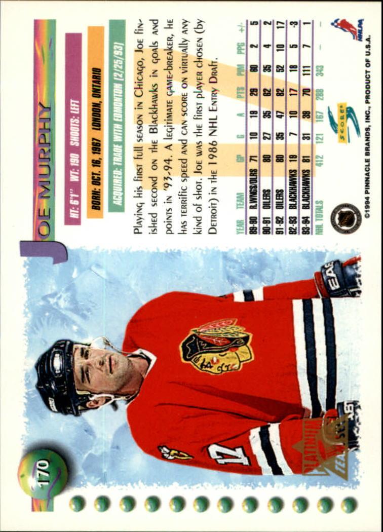 1994-95-Score-Platinum-Hockey-Card-Pick thumbnail 113