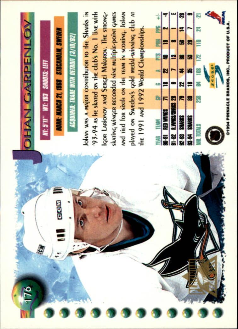 1994-95-Score-Platinum-Hockey-Card-Pick thumbnail 115