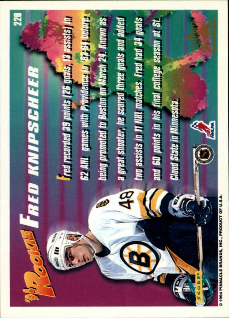 1994-95-Score-Platinum-Hockey-Card-Pick thumbnail 133