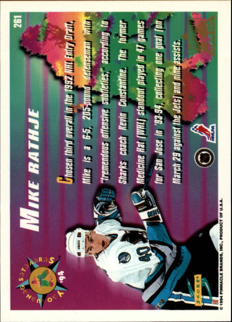 1994-95-Score-Platinum-Hockey-Card-Pick thumbnail 153