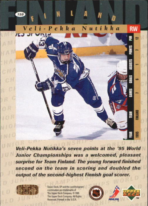 1994-95-SP-Hockey-Cards-You-Pick-Buy-10-cards-FREE-SHIP