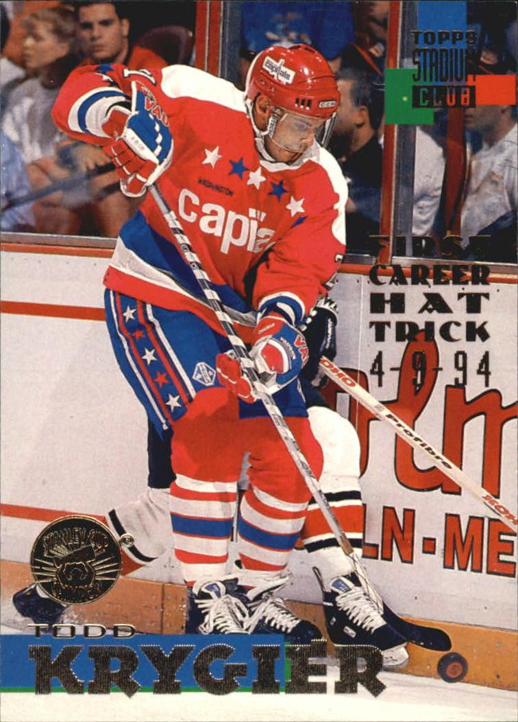 1994-95 Stadium Club #256 Todd Krygier