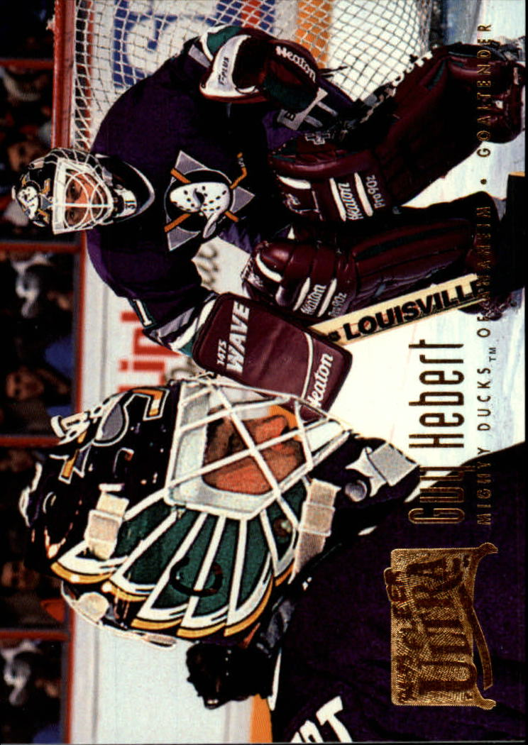 1994-95 Ultra #3 Guy Hebert