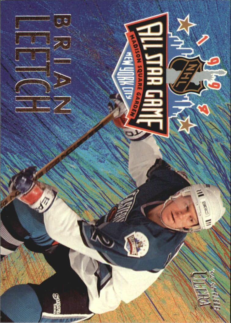 1994-95 Ultra All-Stars #2 Brian Leetch