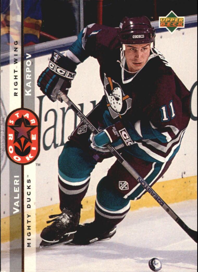 1994-95 Upper Deck #256 Valeri Karpov SR RC