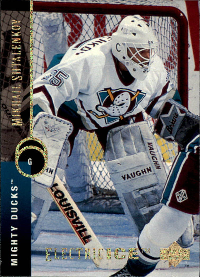 1994-95 Upper Deck Electric Ice #462 Mikhail Shtalenkov