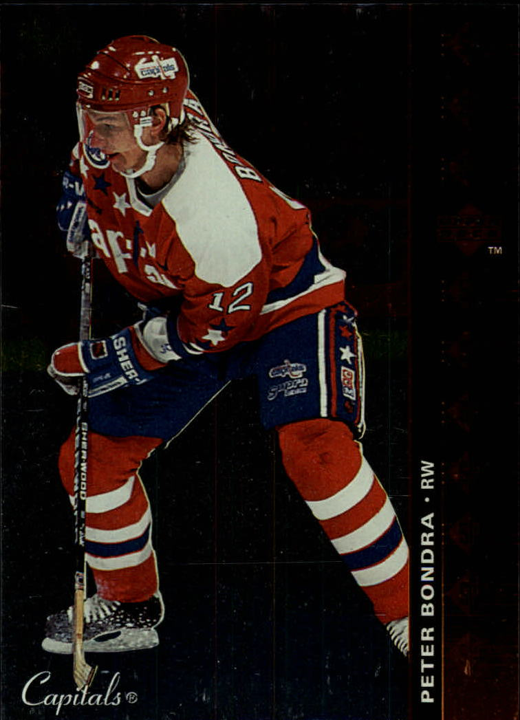 1994-95 Upper Deck SP Inserts #SP85 Peter Bondra