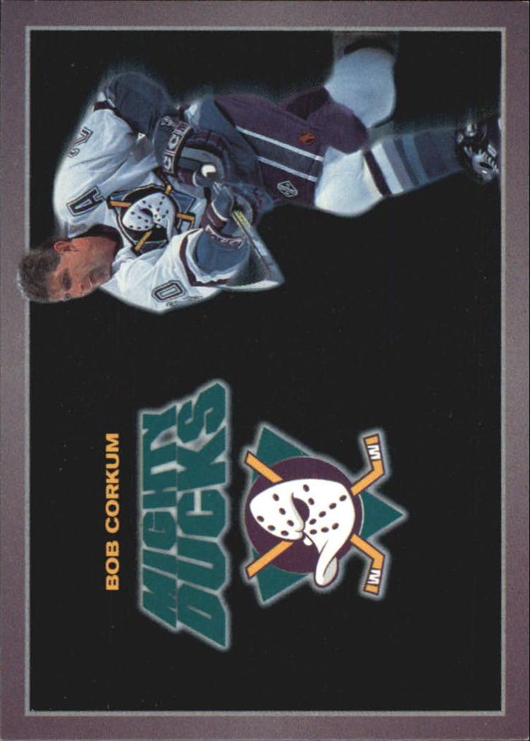 1994-95 Ducks Carl's Jr. #2 Bob Corkum