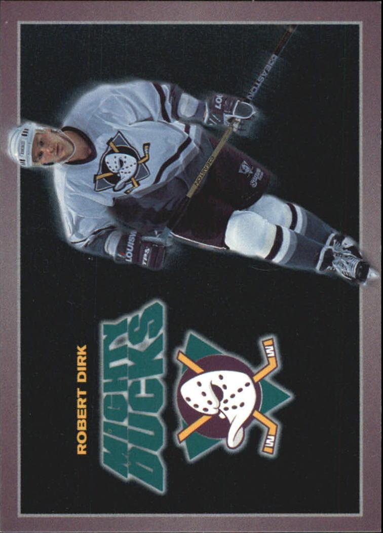 1994-95 Ducks Carl's Jr. #3 Robert Dirk