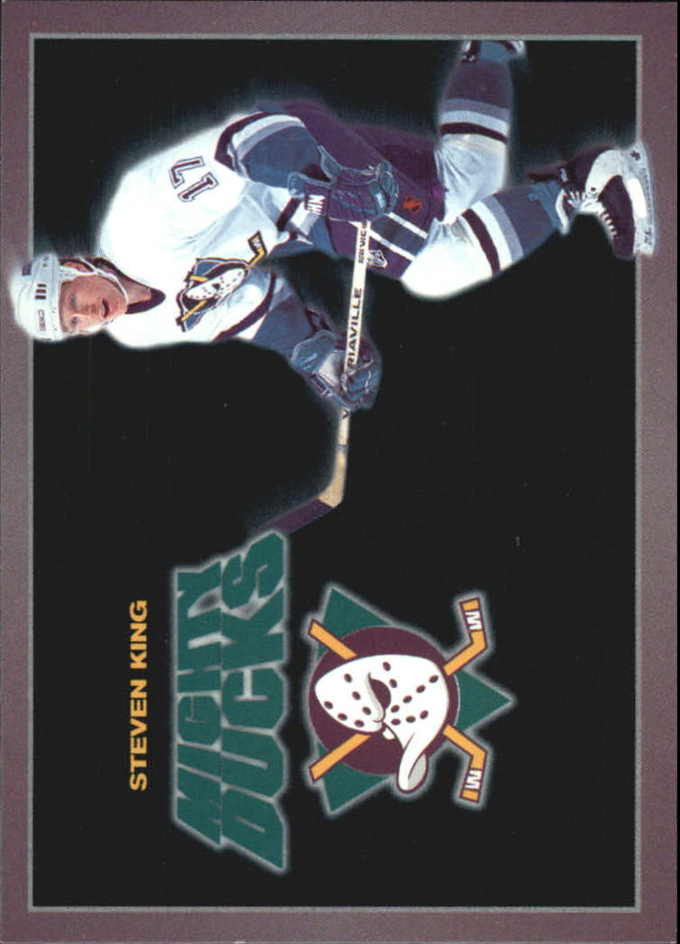 1994-95 Ducks Carl's Jr. #12 Steven King