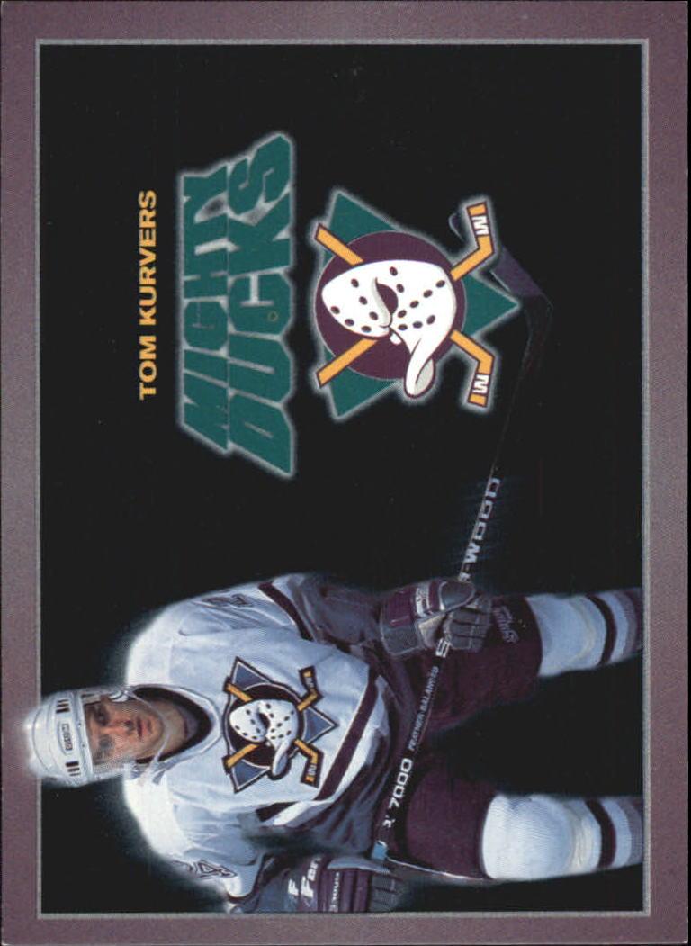1994-95 Ducks Carl's Jr. #14 Tom Kurvers