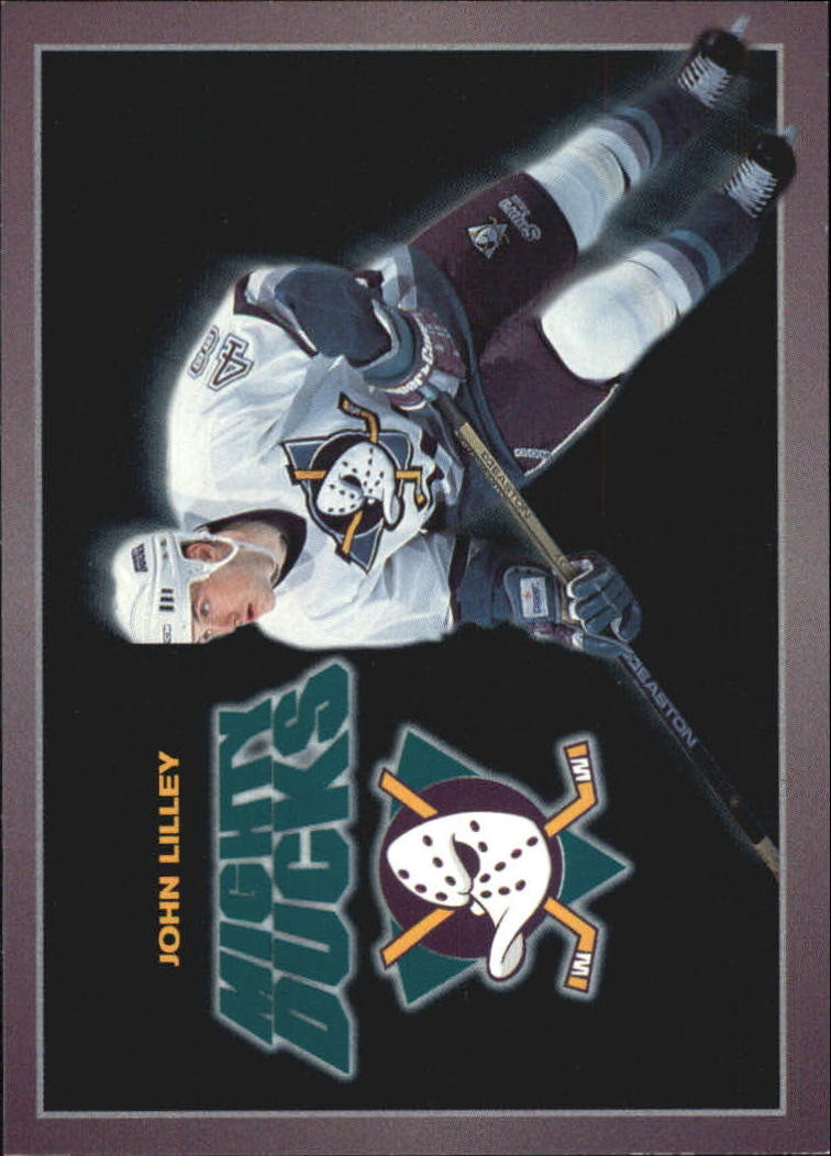 1994-95 Ducks Carl's Jr. #17 John Lilley