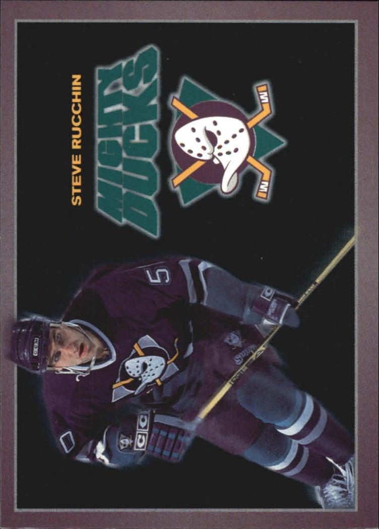 1994-95 Ducks Carl's Jr. #19 Steve Rucchin
