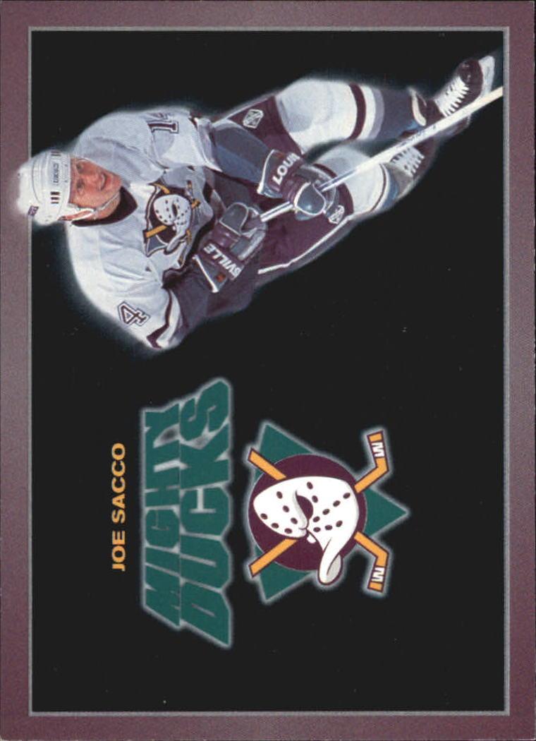 1994-95 Ducks Carl's Jr. #21 Joe Sacco