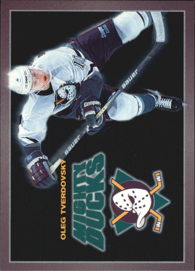 1994-95 Ducks Carl's Jr. #24 Oleg Tverdovsky