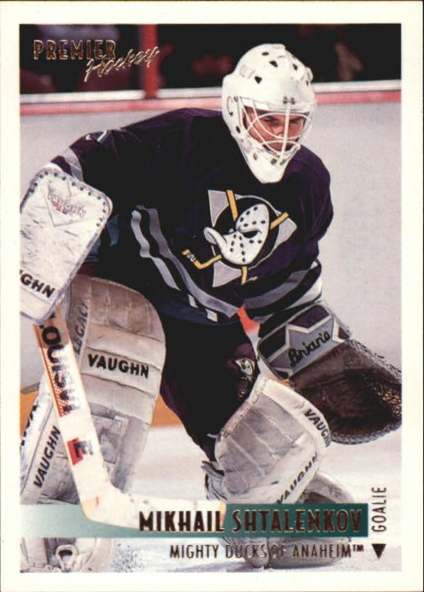 1994-95 OPC Premier #3 Mikhail Shtalenkov RC