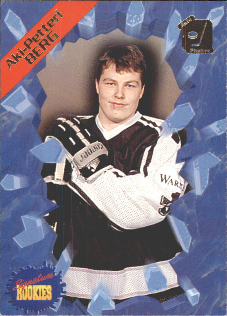 1995 Signature Rookies Auto-Phonex #6 Aki Berg